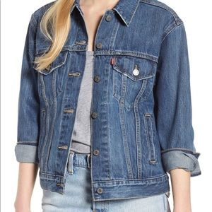 Levi's Jackets & Coats - Levi's Ex-Boyfriend Denim Trucker Jacket